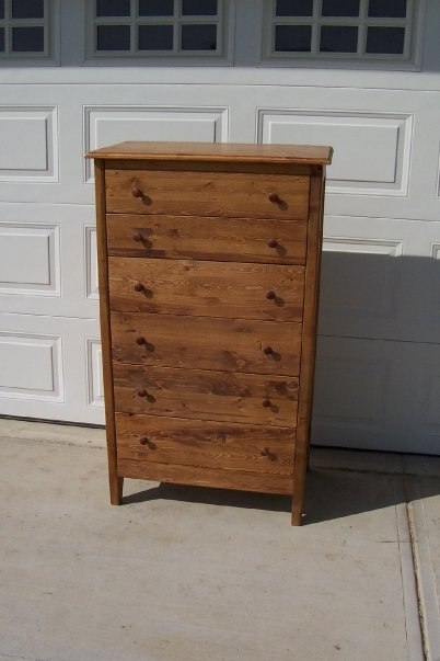 solid wood tall dresser, Edmonton