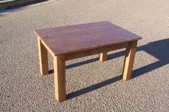 solid wood coffee table, Alberta
