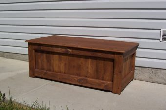 solid wood trunk coffee table, Calgary