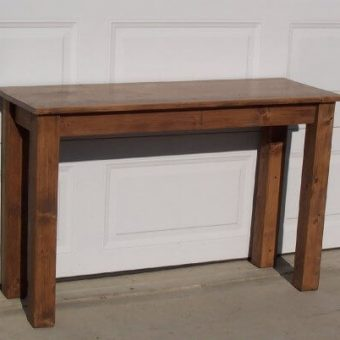 solid wood console coffee table, Edmonton