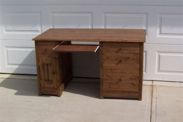 solid wood desk, Alberta