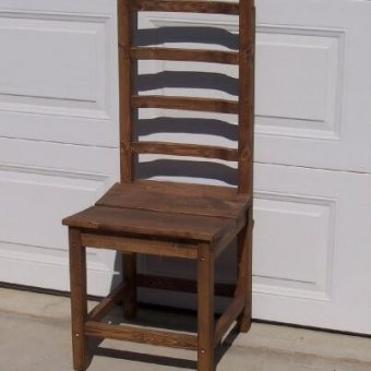 solid wood ladderback chair, Edmonton Alberta