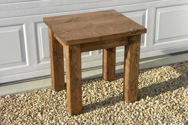solid wood planktop coffee table, Alberta