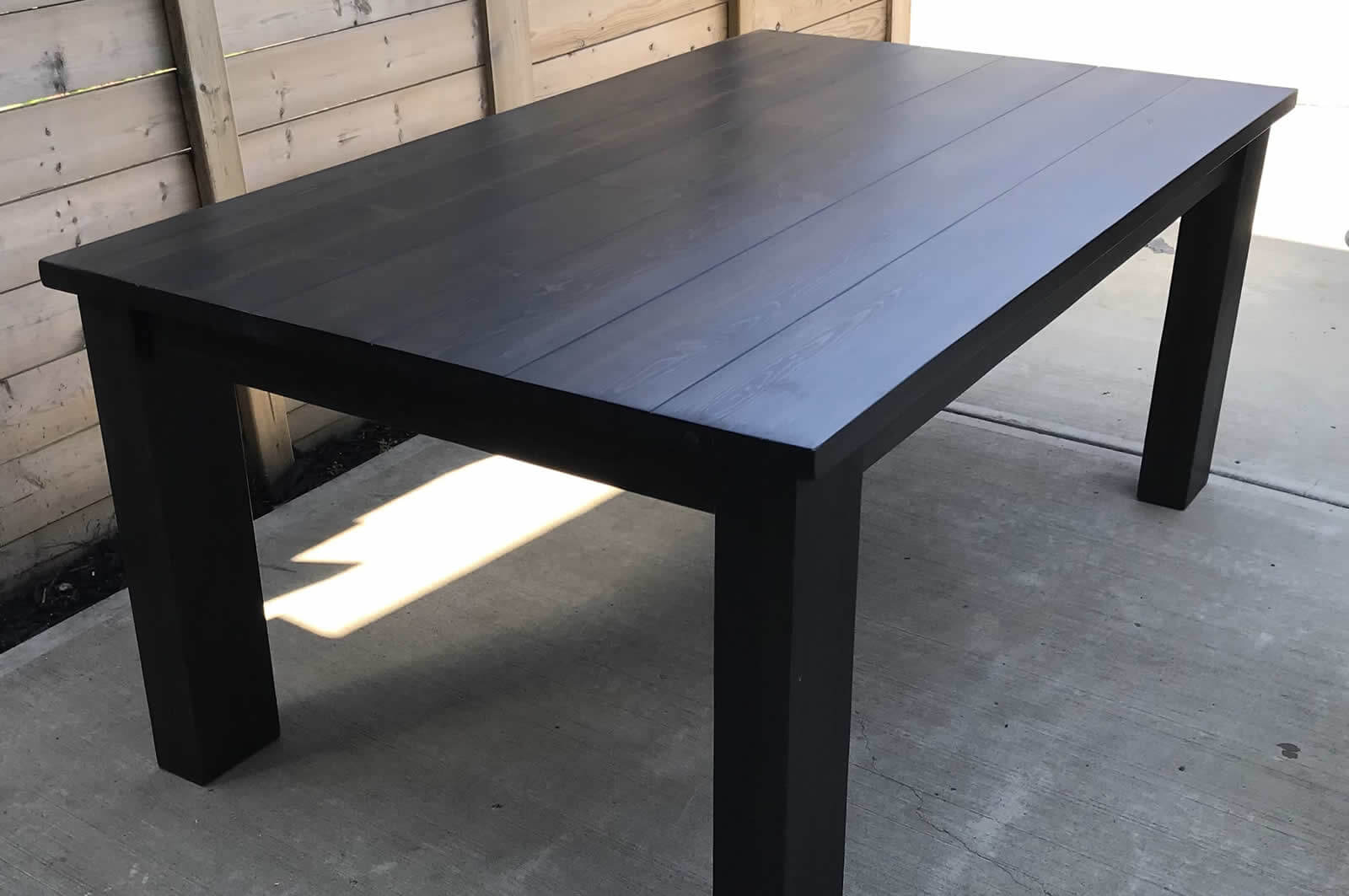 Solid wood dining table, Alberta