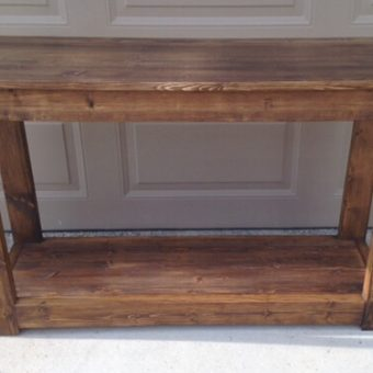 solid wood tray console tables, Alberta