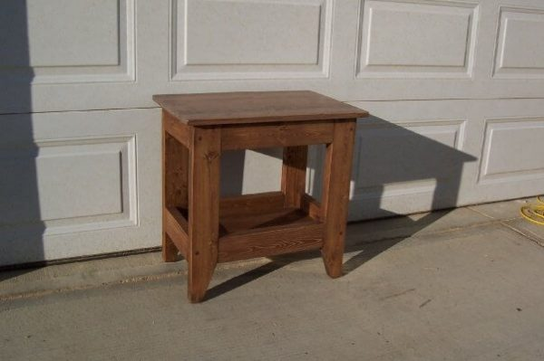 solid wood tray coffee and side tables, Alberta