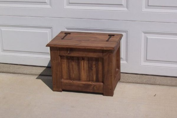 solid wood storage trunk, Edmonton Alberta