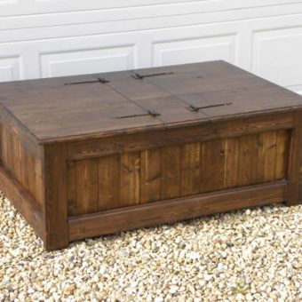 solid wood trunk coffee tables, Alberta